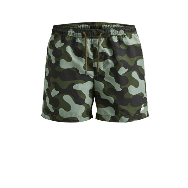 Jack & Jones JJICali AKM Camp Swim Shorts