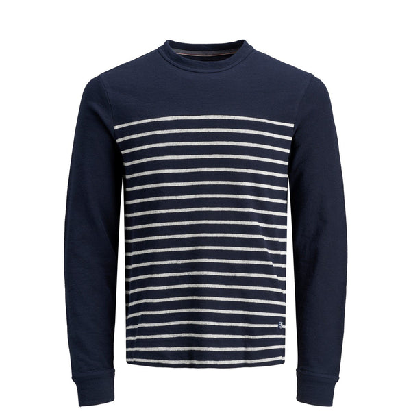 Jack & Jones JPRDenim Stripe Sweater