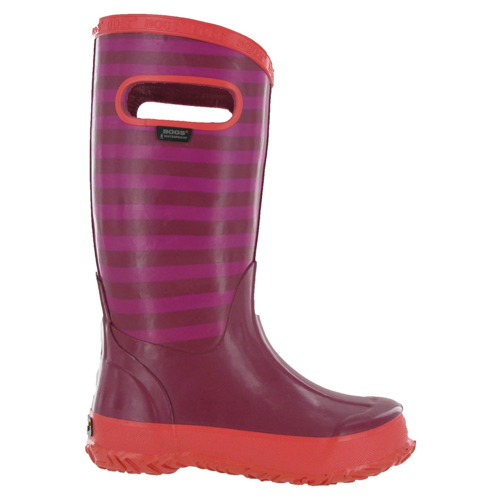 Bogs Striped Wellington Boots