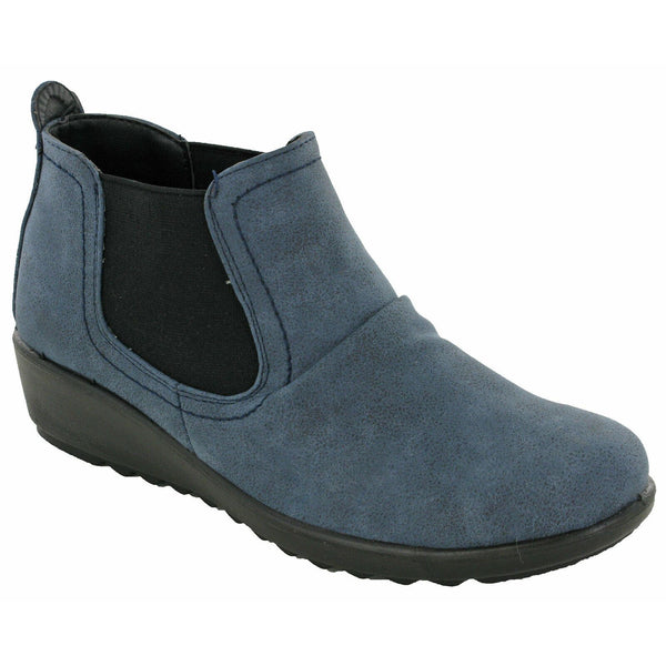 Cushion Walk Lizzie Ankle Boots-ShoeShoeBeDo