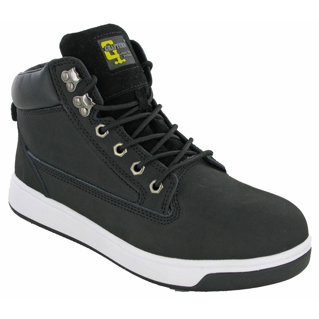 Grafters Hi-Top Safety Trainers-ShoeShoeBeDo