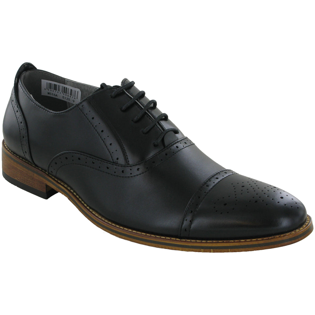 Goor Oxford Capped Brogues