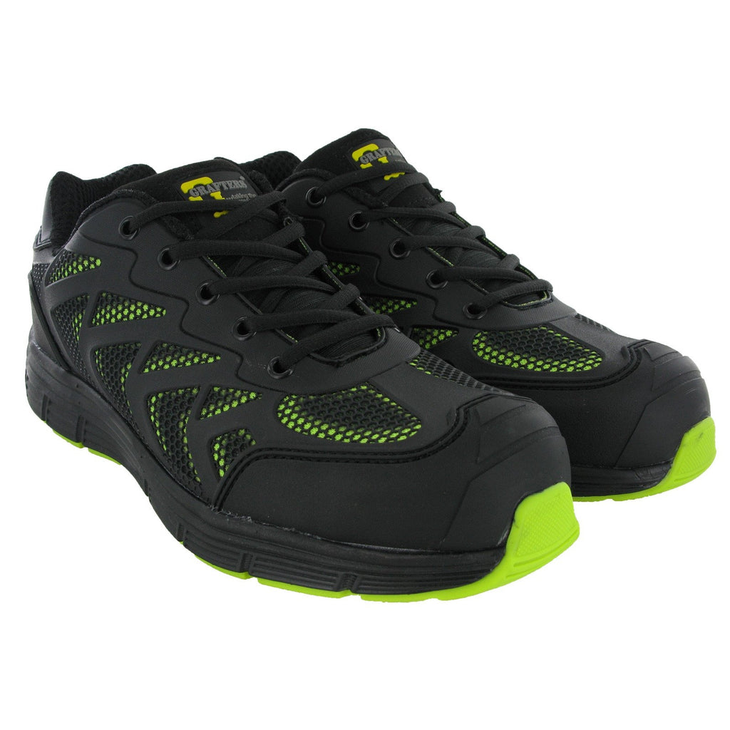 Grafters Mesh Safety Trainers