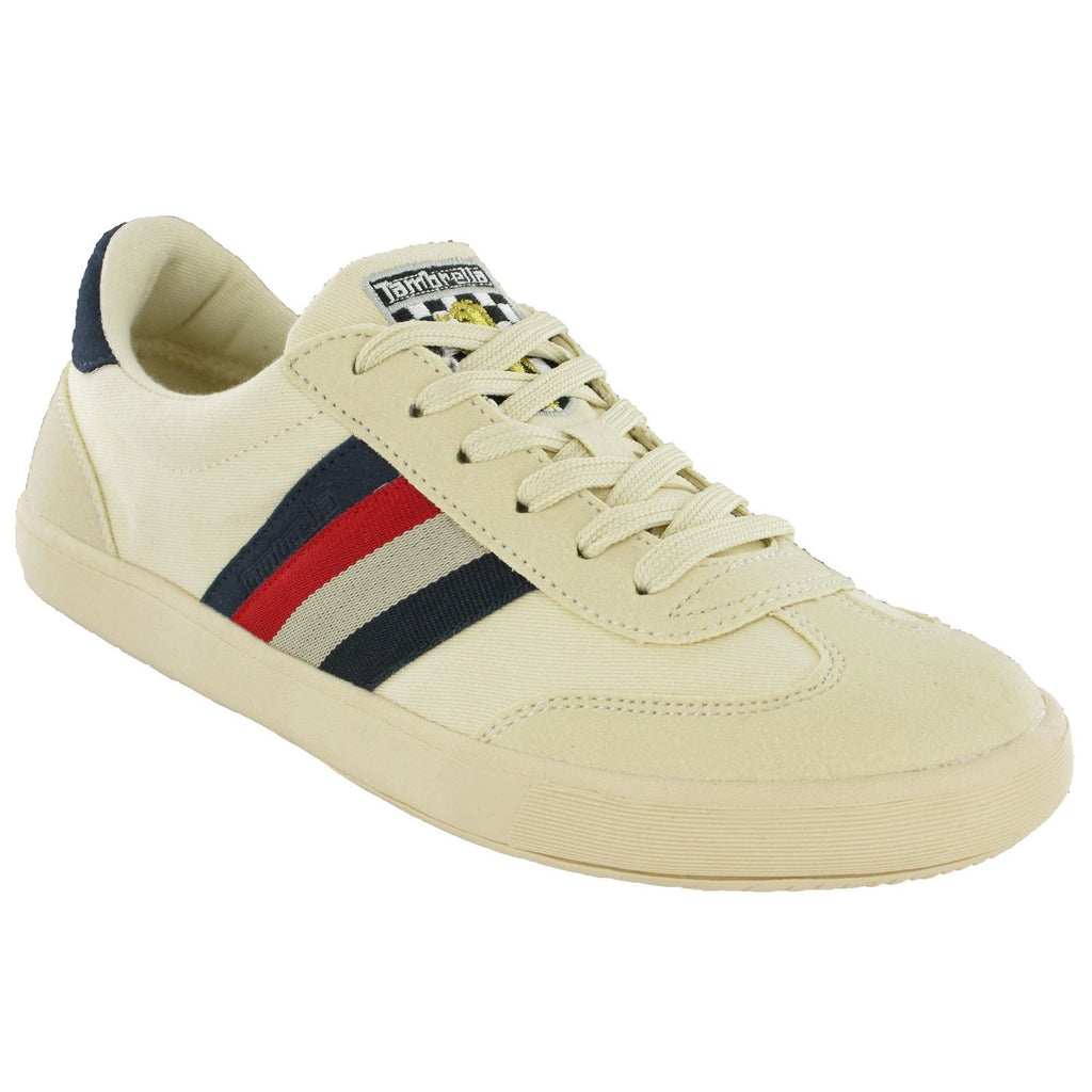 Lambretta Vulcan MOD Canvas Trainers-ShoeShoeBeDo