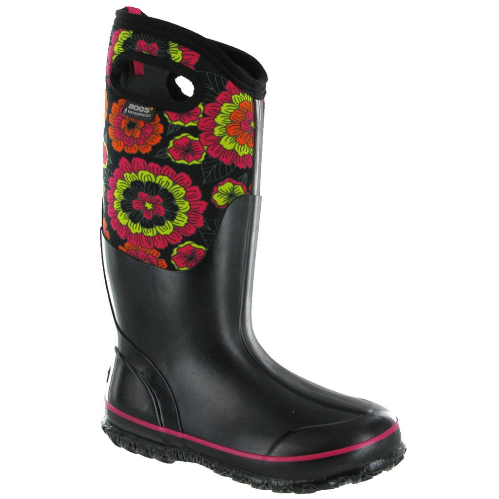 Bogs Pansies Wellington Boots