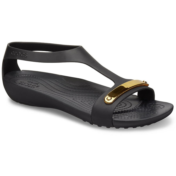 Crocs Serena Metallic Bar Sandals