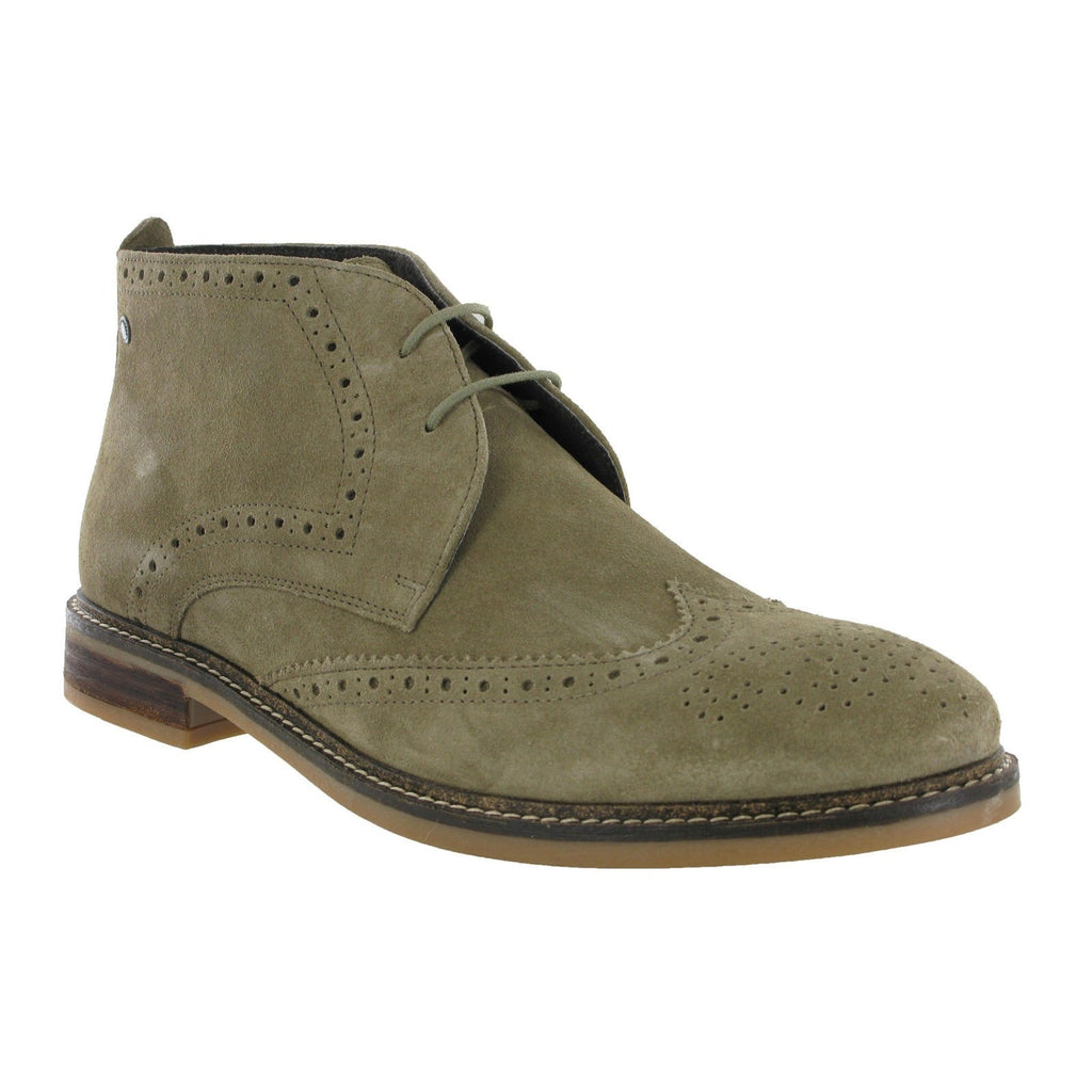 Base London Seville Brogue Ankle Boots