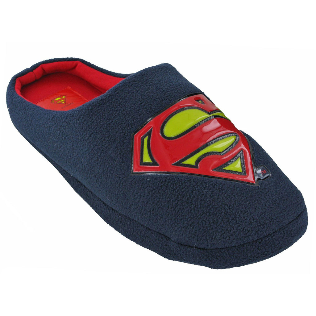 Superman Mule Slippers-ShoeShoeBeDo