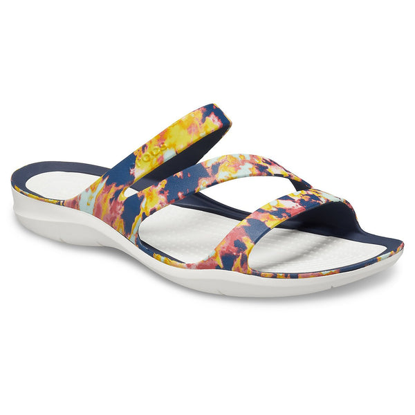 Crocs Swiftwater Tie Dye Mania Sandals