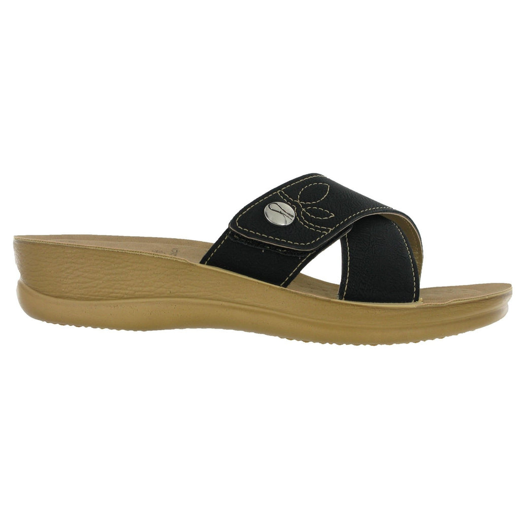 Inblu Cross Over Strap Sandals