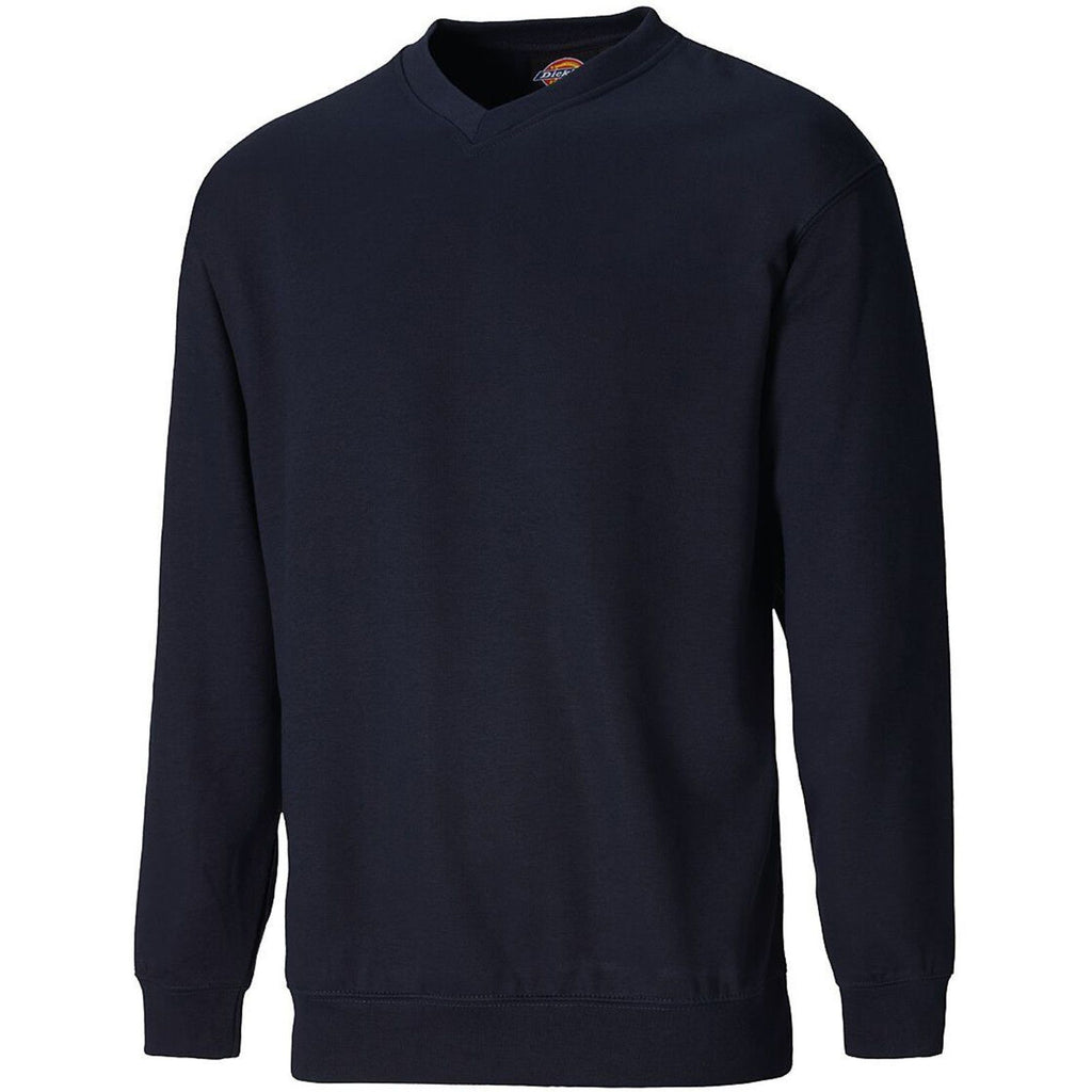 Dickies V Neck Sweatshirt-ShoeShoeBeDo
