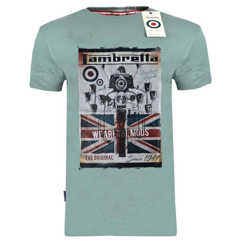 Lambretta 'We Are The MODs' T-Shirt-ShoeShoeBeDo