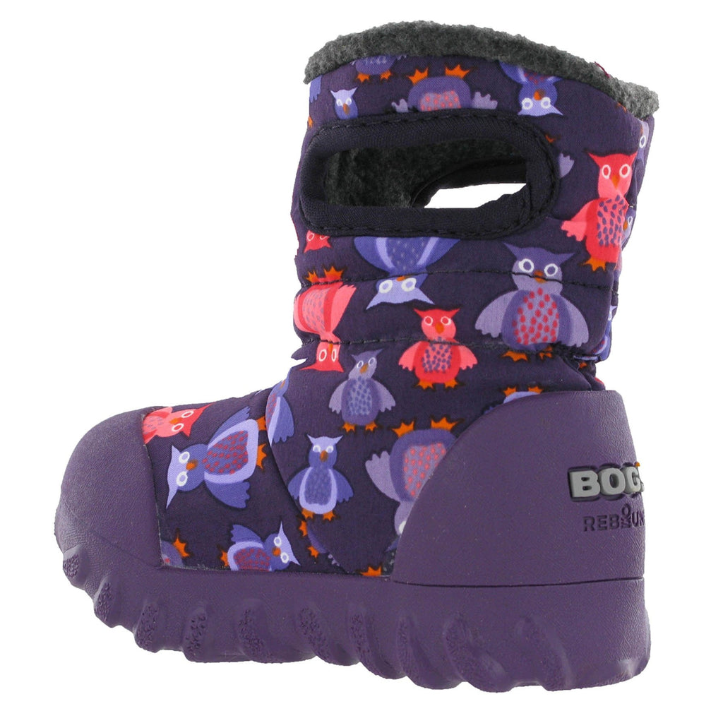 Baby Bogs B-MOC Puff Owl Boots