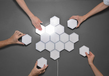 Get Creative With Honeycomb Wall Mounted Lights