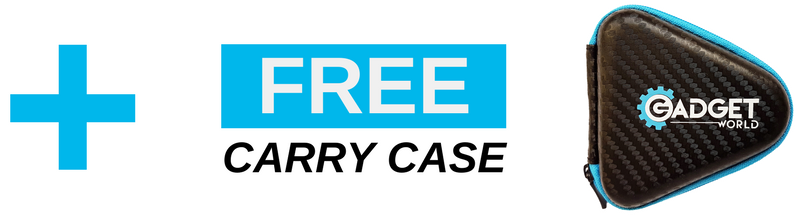 free carry case for gadget world high quality spinner