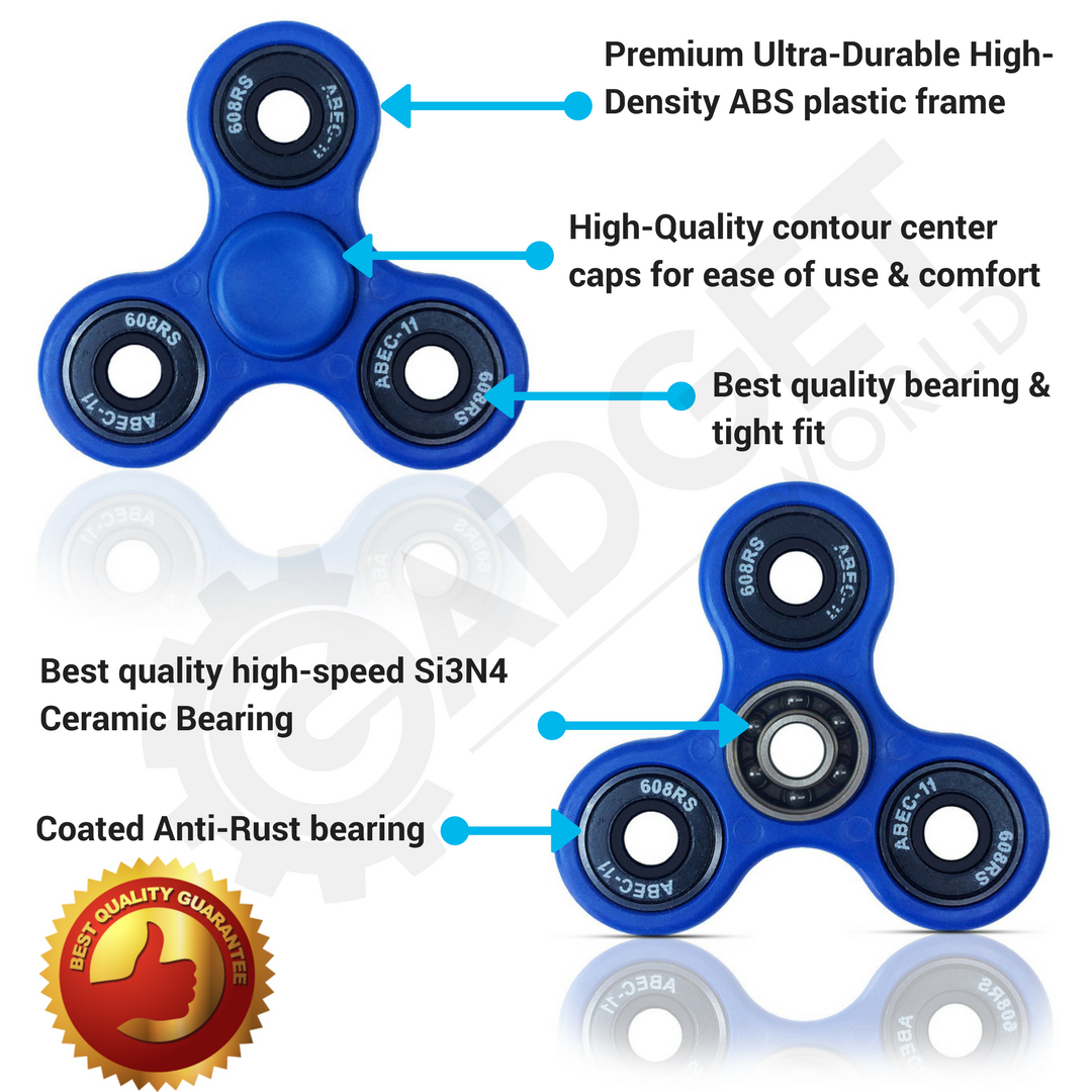 gadget world high quality fidget spinner