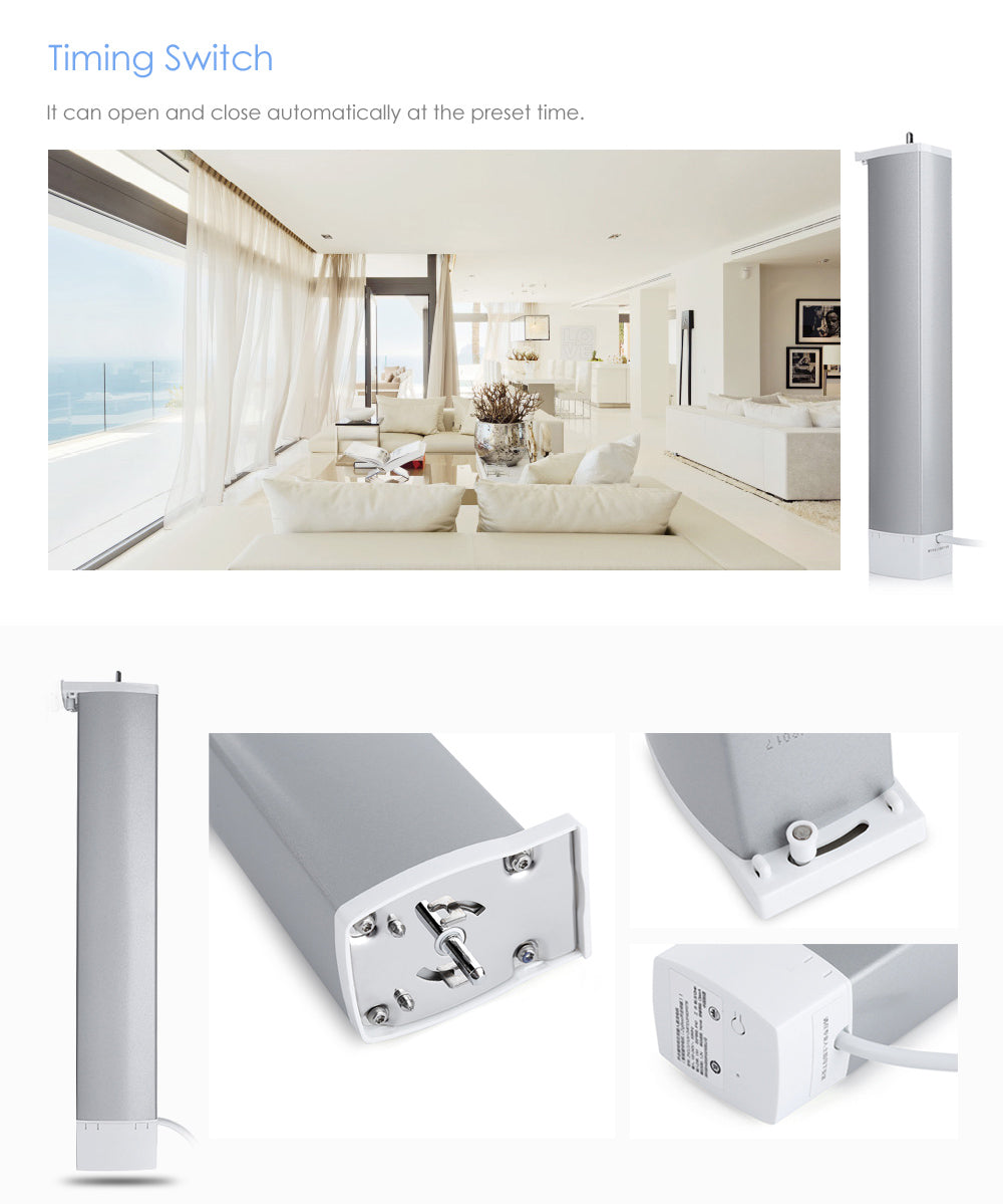 Xiaomi Aqara Intelligent Curtain Motor Smart Home Device ZigBee Wireless Connection Remote Control