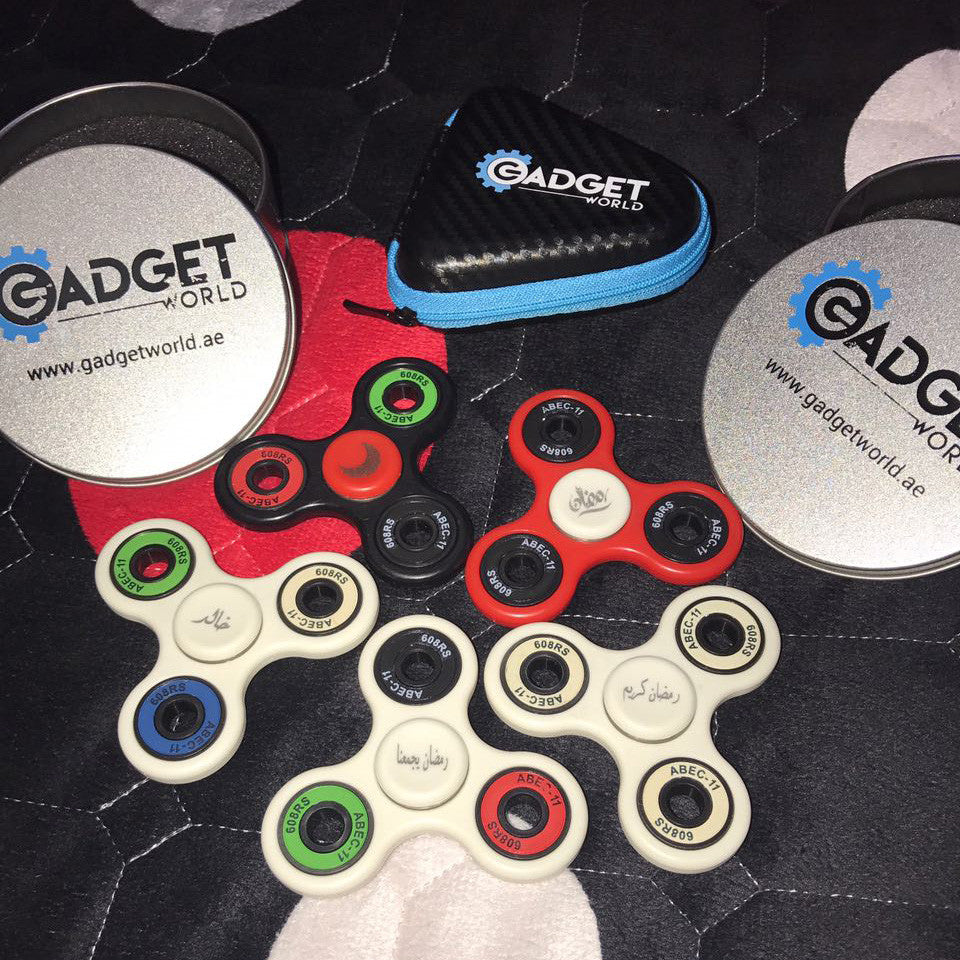 custom spinners from gadget world