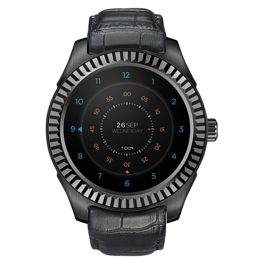 DTNO.I D7 3G Smartwatch Phone 1.3 Inch Android 4.4 MTK6572 Dual Core 1GB+8GB BT 4.0 Heart Rate Measurement NFC IP65 Waterproof