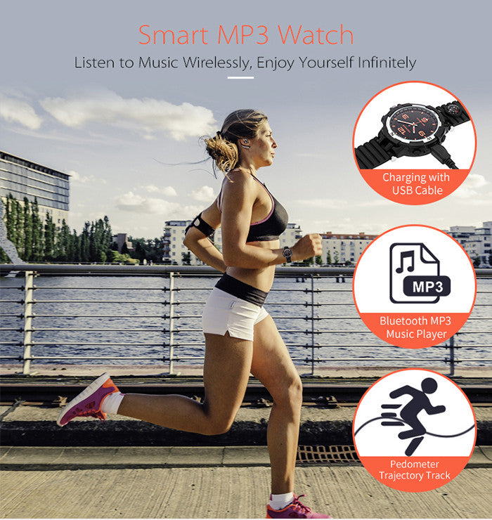 Original Foxwear F35 Bluetooth 3.0 Anti-Lost Smart Watch Sleep Monitor Calories Consumption Wrist Watch For Android IOS