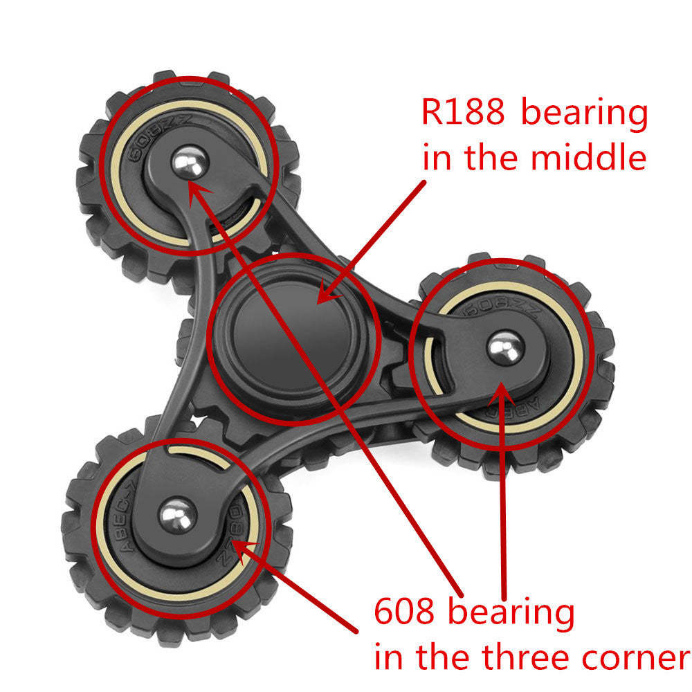 gears spinner from gadget world the ultimate fidget spinner