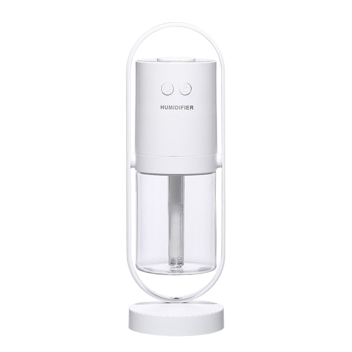 360° Ultrasonic Air Humidifier Projection 5 Mode Cool LED Lights - Gadget World