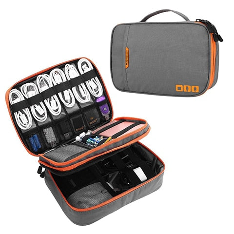 Portable Accessories and Cable Organizer Gadget Bag - Gadget World
