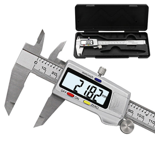"Measuring Tool Stainless Steel Digital Caliper 6 ""150mm - Gadget World"