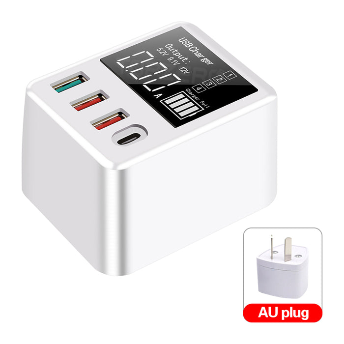 30W Quick Charge QC3.0 USB Charger Wall Adapter - Gadget World