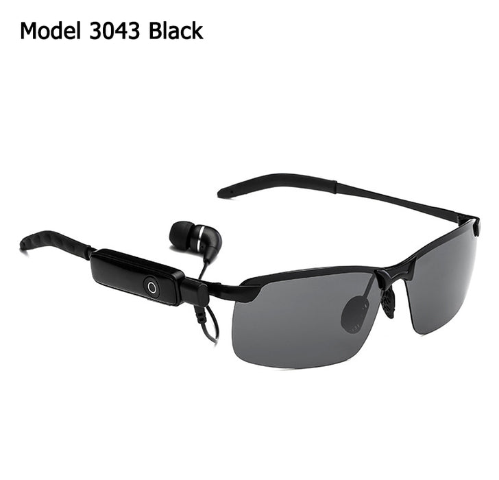 Aviation Style Smart Bluetooth Headset Sunglasses - Gadget World