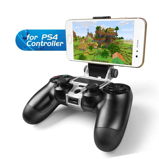 Mobile Phone Gaming Clip Holder For PS4 Controller - Gadget World