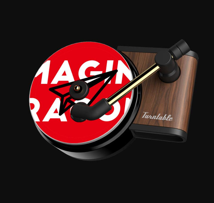 Car Air Freshener Record Player - Gadget World