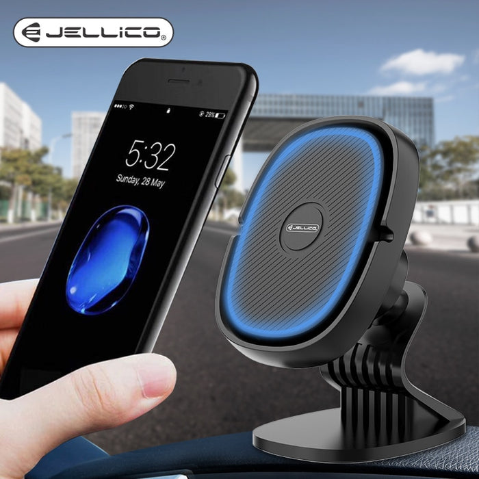 Jellico Car Phone Holder Magnetic Air Vent Clip Mount - Gadget World