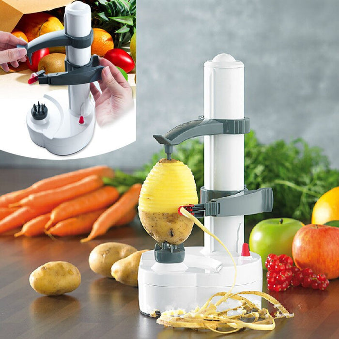 Electric Fruit and Vegetable Peeler - Gadget World