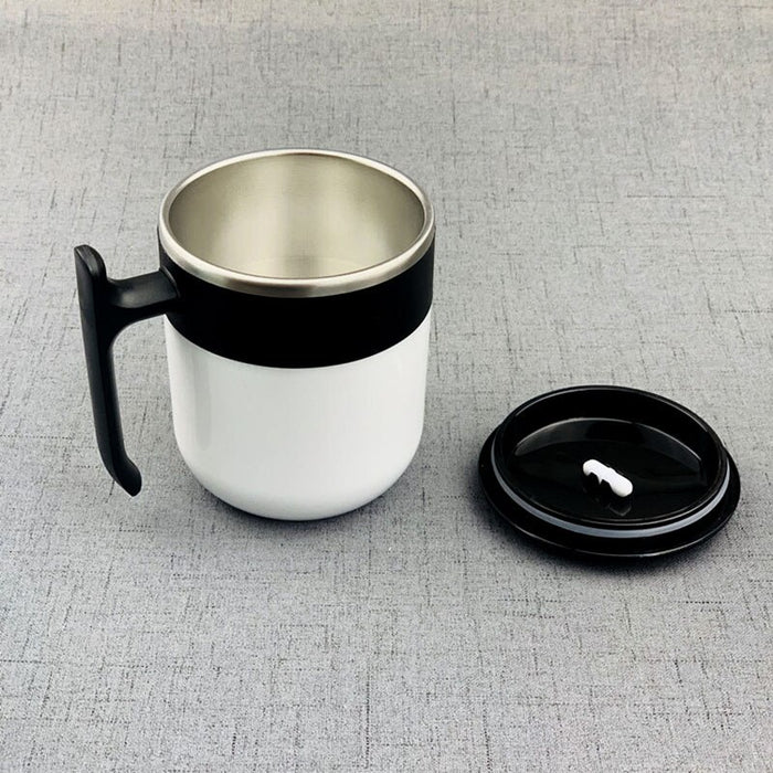 Self Stirring Smart Mug Stainless Steel Automatic Mixing Coffee Cup - Gadget World