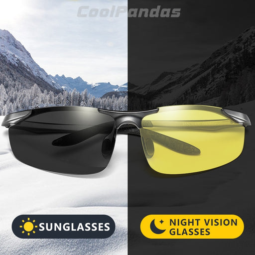 Aluminum Magnesium Photochromic Polarized Sunglasses - Gadget World