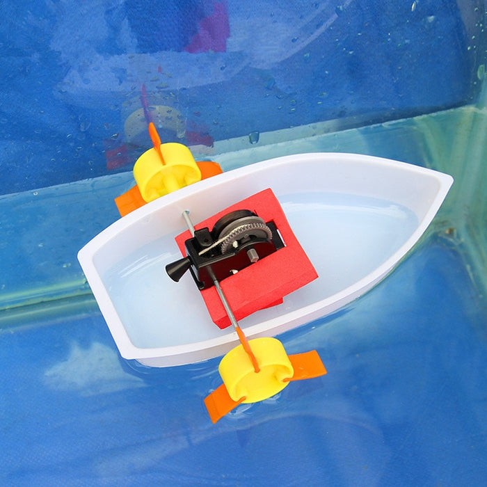 Science experiments Toy handmade Paddle Ferry Wheel Boat - Gadget World