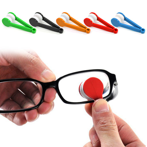 Mini Glasses Cleaner Microfibre Spectacles Sunglasses Eyeglass Cleaner - Gadget World