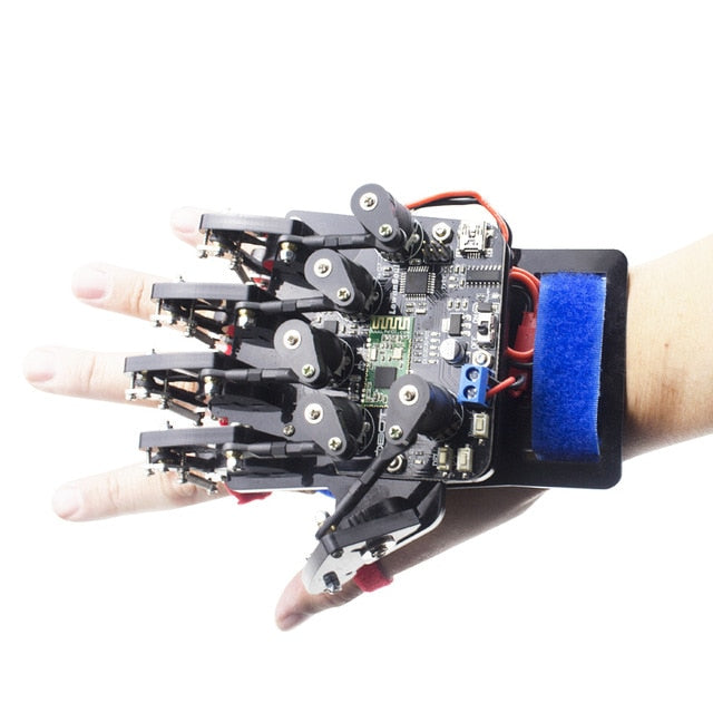 Wearable Mechanical Glove Wireless Somatosensory Controller - Gadget World