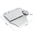 Single Hand Keyboard Smart Dial Customizable Keypad Bluetooth Dual Mode Vertical Mouse - Gadget World