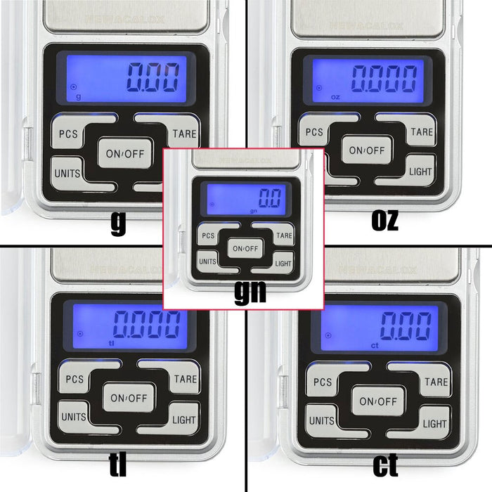 Electronic Digital Mini Pocket Scale 0.01g Precision - Gadget World