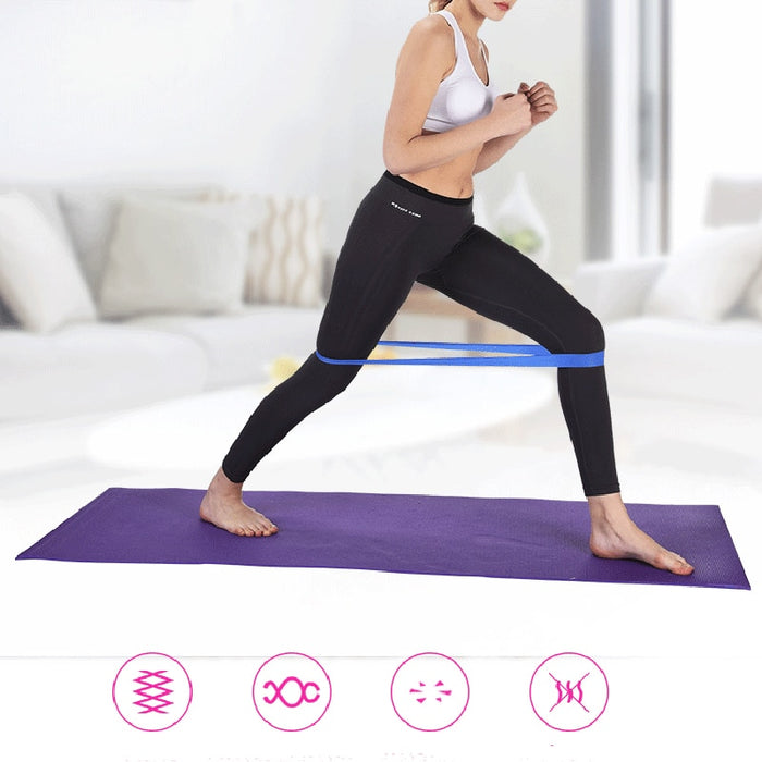 5 Colors Yoga Resistance Rubber Bands - Gadget World