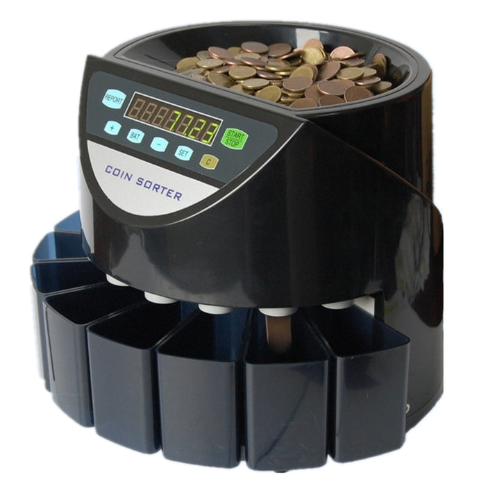 Professional Portable Automatic Coin Counter and Sorter - Gadget World