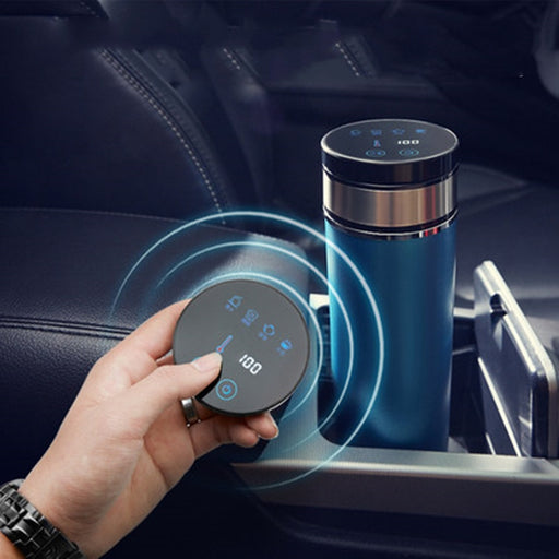 Portable 350ml Car Auto Heating Cup Adjustable Temperature - Gadget World