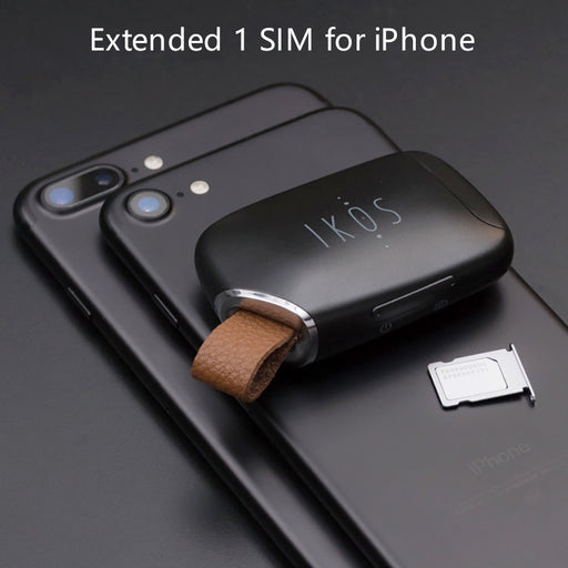 K1S No Jailbreak Dual Sim Dual Standby Adapter Call SMS Functions - Gadget World