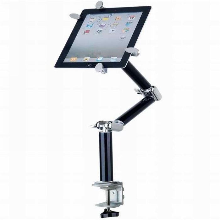Multifunction 360 Degree Flexible Scalable Arm Tablet Phone Car Stand - Gadget World