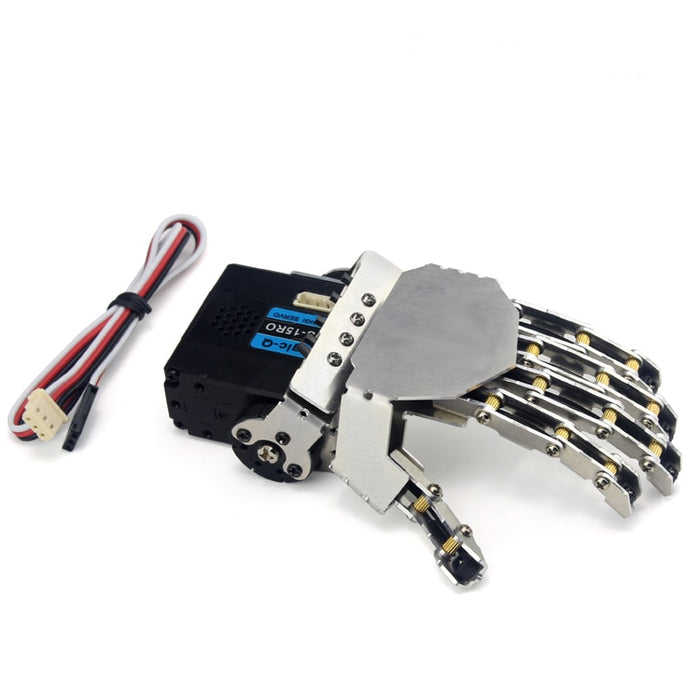 Robot Hand Five Fingers Paw Claw Talon For Metal Manipulator - Gadget World