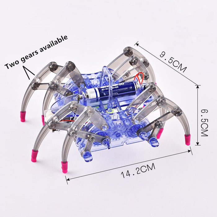 DIY Spider Robot Crawling RC Toy Assembly - Gadget World