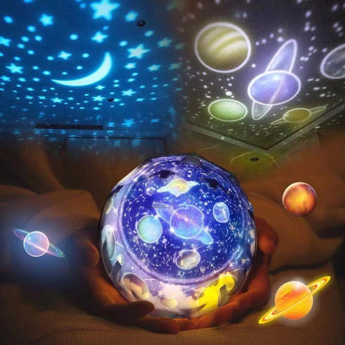 Starry Sky Night Light Planet Magic Projector Moon Lamp - Gadget World