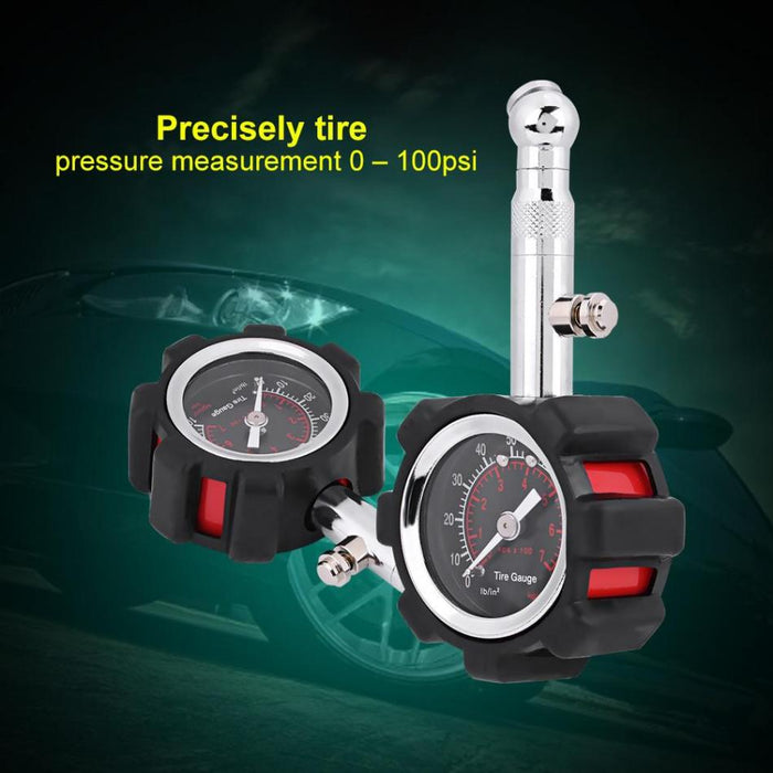 Manual Tire Air Pressure Diagnostic Meter - Gadget World
